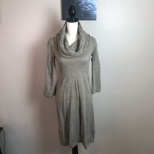 THE LIMITED COWL NECK SWEATER DRESS SIZE XS